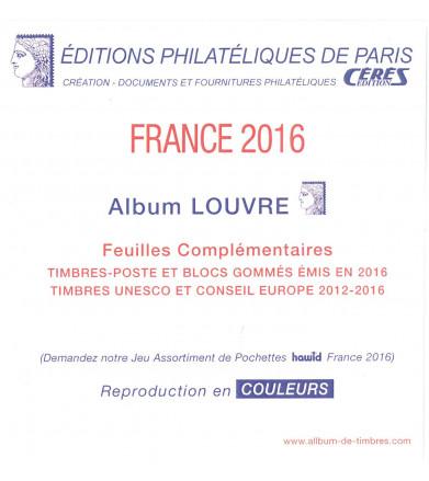 Feuilles France Louvre 2016