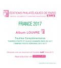 Feuilles France Louvre 2017