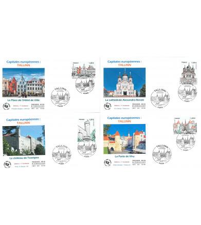 TALLINN - CAPITALES EUROPEENNES