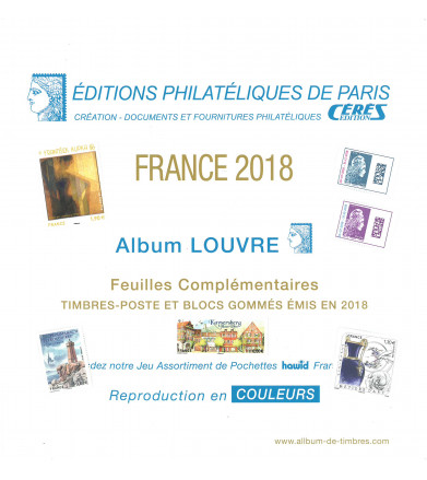 Feuilles France Louvre 2018