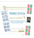 Feuilles France Louvre 2018 pour carnets autocollants