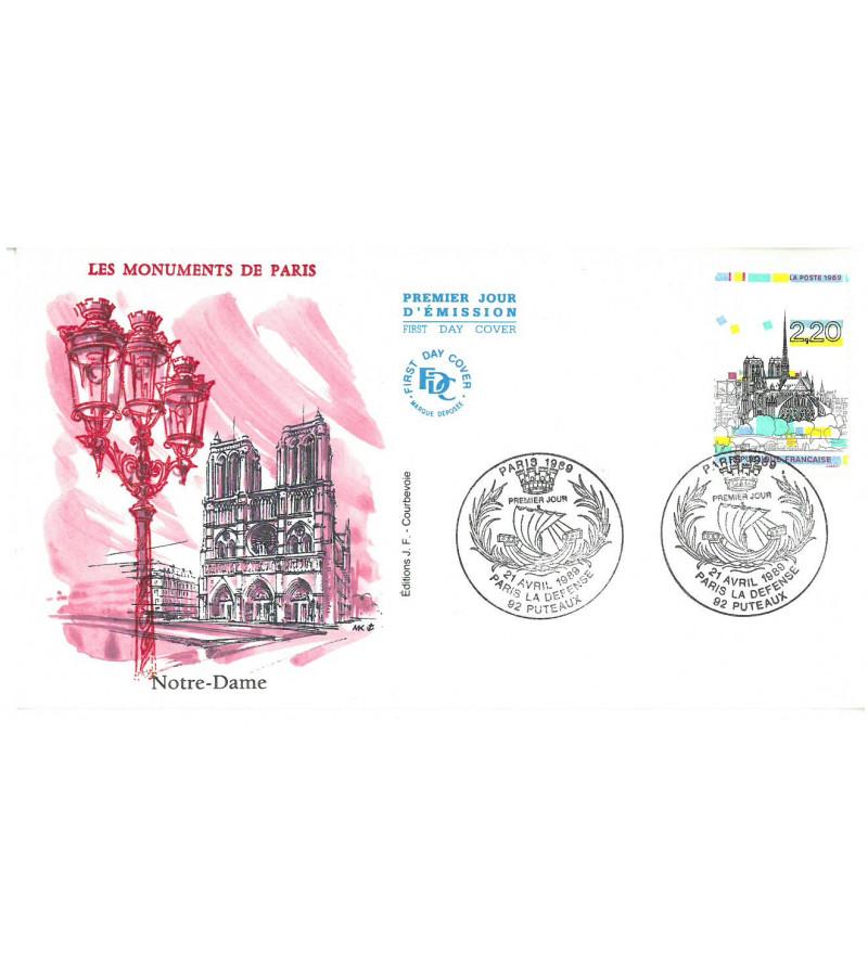 NOTRE-DAME DE PARIS - TIMBRE 1989