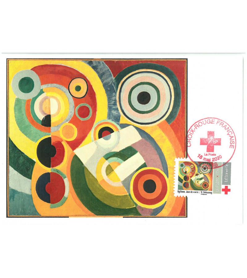 Croix Rouge 2020 Tableau Delaunay