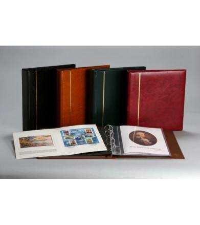 Classeur pour encarts + 10 livrets transparents