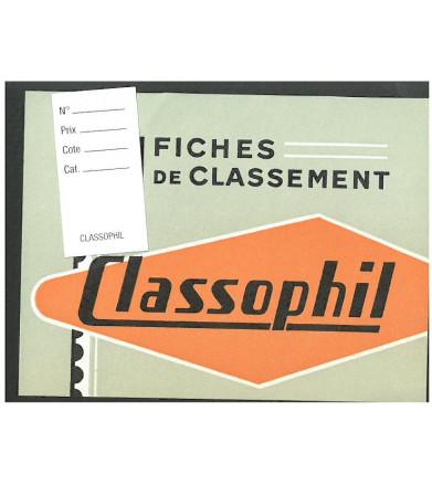 Fiches de classement Classophil